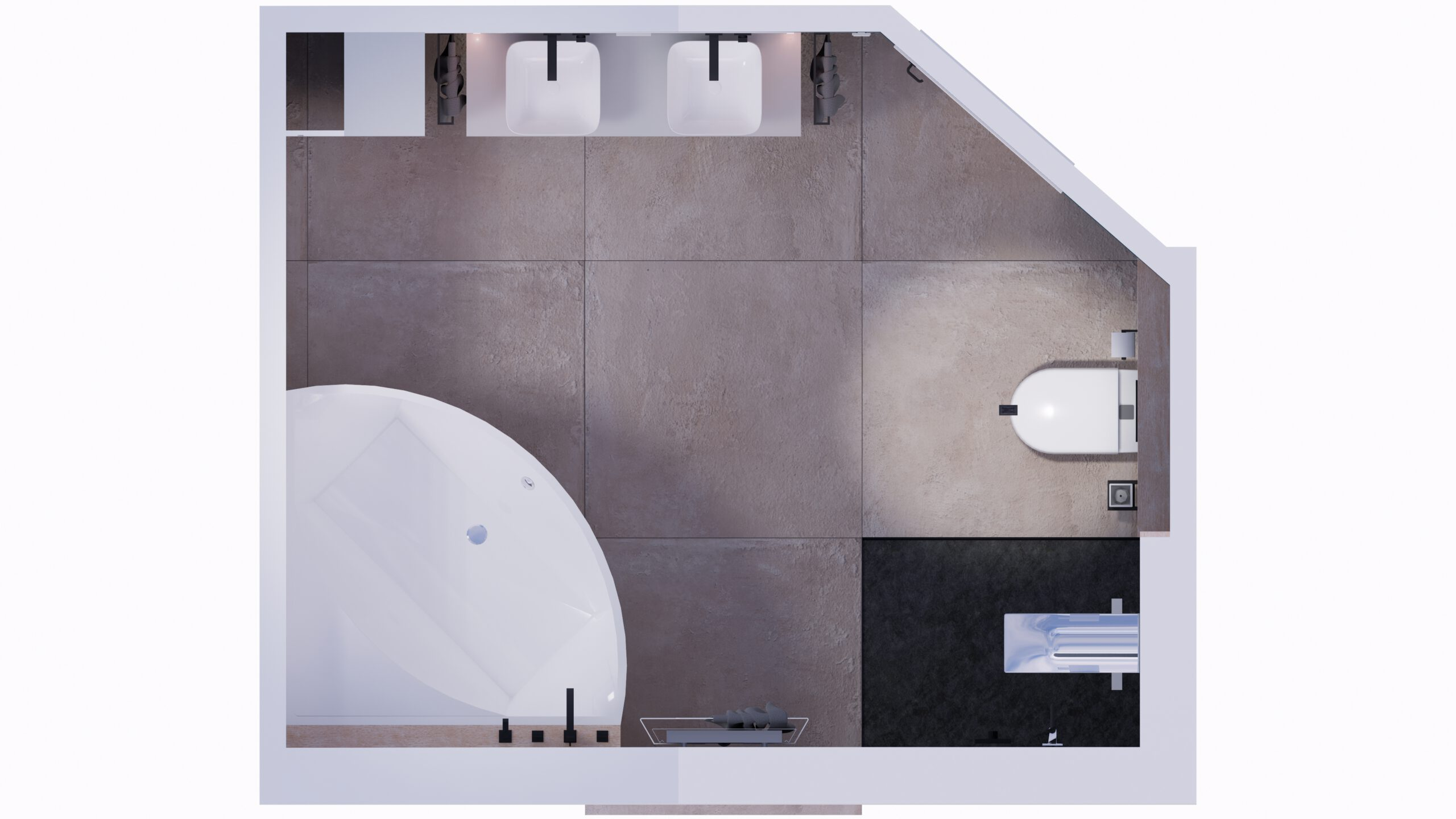 Badezimmer Design, Fliesen design