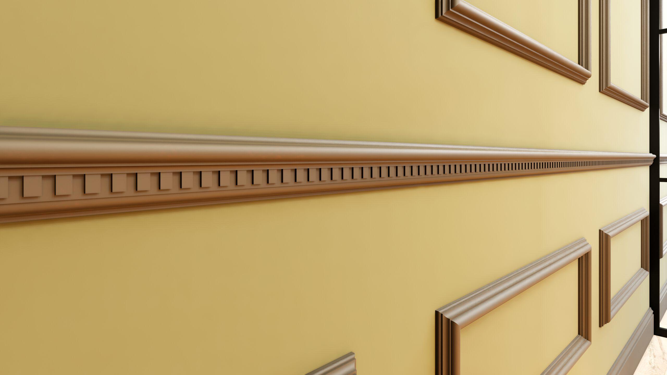 Weinkeller Detail Ansicht Wandprofil